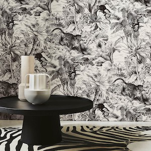 papier peint noir et blanc manuel canovas