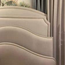 plusieurs tete de lit sur mesure, carré et arrondi