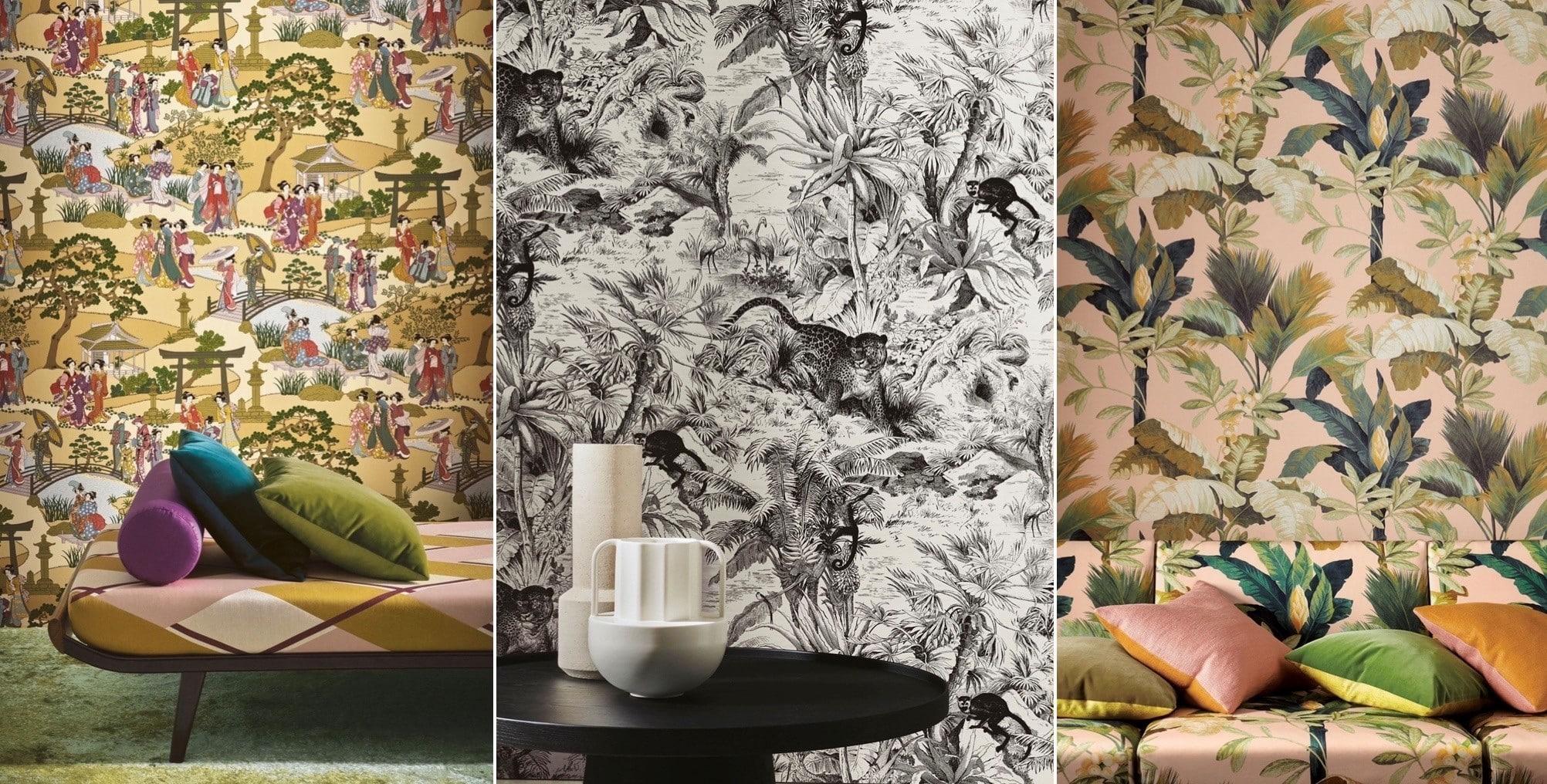 tapisserie papier peint haut de gamme motif