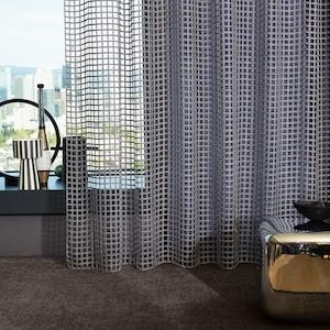 rideaux carré design zimmer rohde